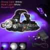 HEADLAMP CREE XM-L2 + purple LIGHT